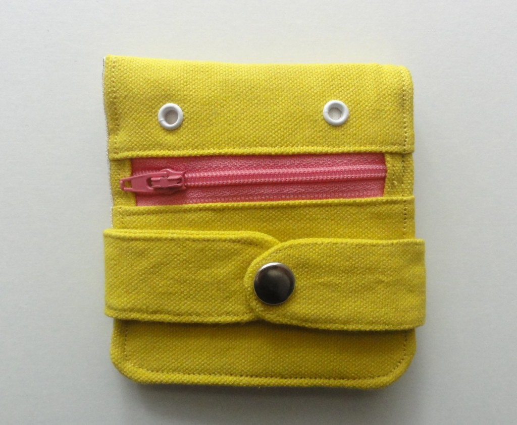 Yellow hug monster wallet